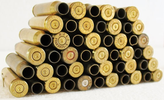 LOT 51 WINCHESTER 223 Brass Bullet Shells Casings by eclecticka, $24.98