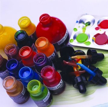 Liquitex Ink   OHHH yes, been painting with these quite a bit. Drooling over the big mamma jars!!!