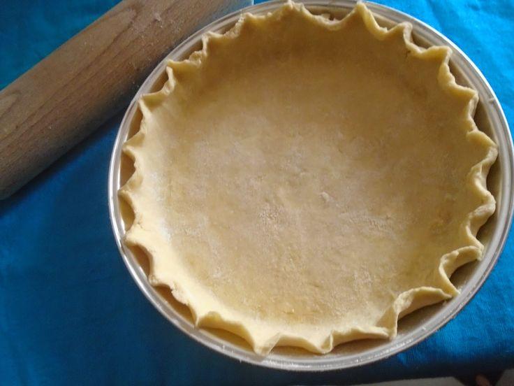 Poly's kitchen: Basic Sunday:Ζύμη για τάρτα- pie crust