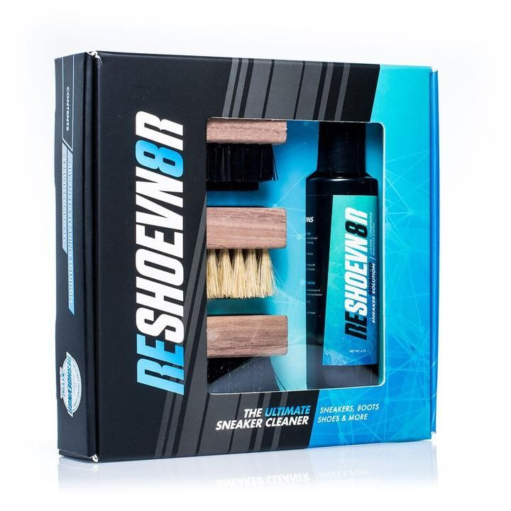 4 Oz 3 Brush Shoe Cleaning Kit Onskeliste