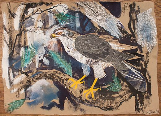 Mark Hearld (New work to be exhibited at York Open Studios: 17,18 & 19 April and 25 & 26 April 2015)