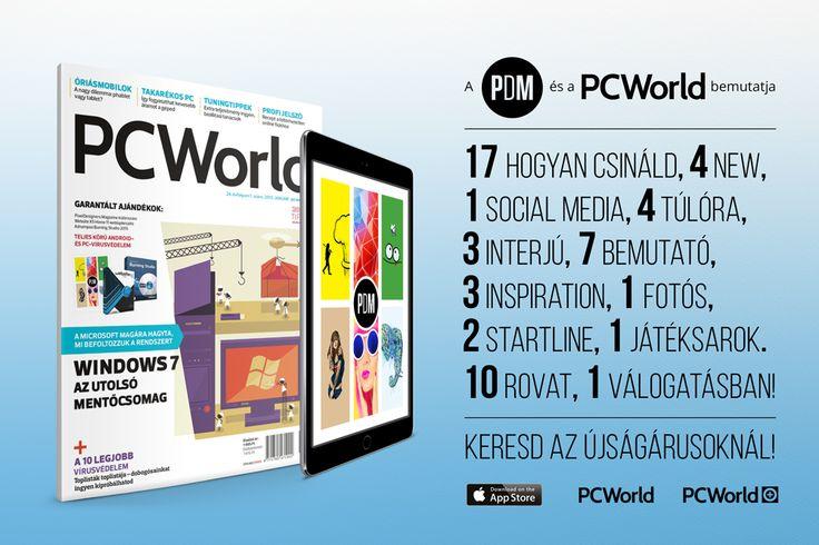 A PC World 2015. januári számának DVD-mellékletén megtalálható egy különleges összeállítás a PixelDesigners Magazine legjobb cikkeiből, köztük a Social Media és a Hogyan csináld rovatokban megjelent cikkeim.