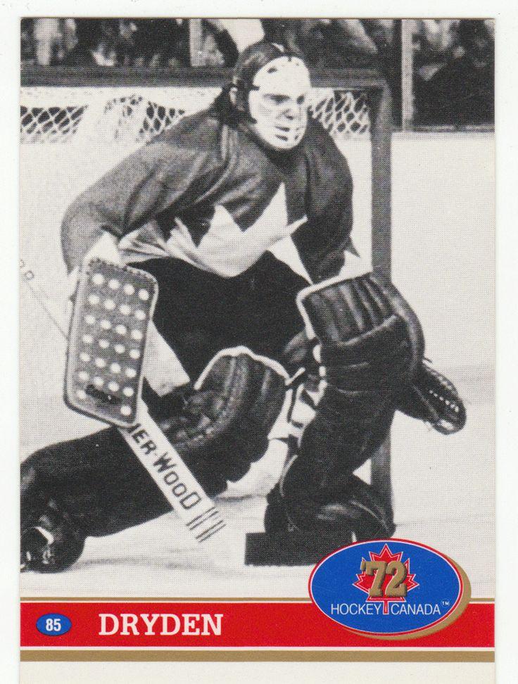 Ken Dryden # 85 - 1991-92 Future Trends Canada '72 - Canada Russia Hockey Series