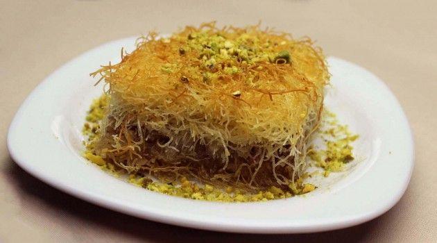Türkische Dessert aus Teigfäden – Kadayıf
