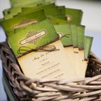 Outdoor wedding invites!
