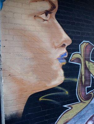 Street art in Melbourne, Australia laneways Gallery - Coffee & Coconuts