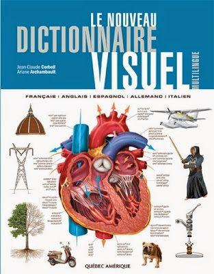 Livre : Le nouveau dictionnaire visuel : Français-Anglais-Espagnol-Allemand-Italien