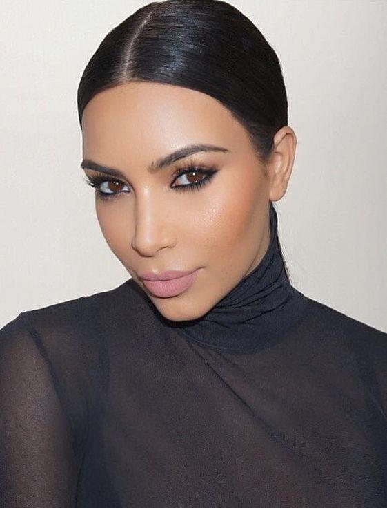 Kim Kardashian Wearing Koko K