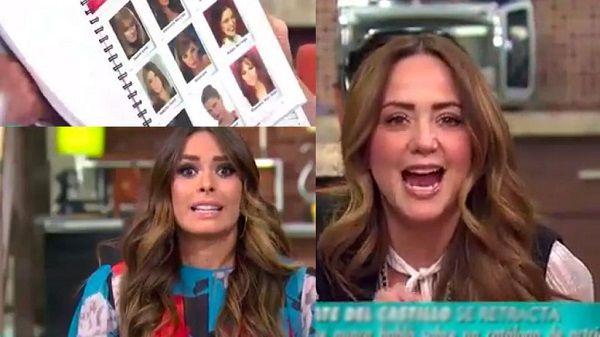 Muestran conductoras de Hoy el catálogo de Televisa