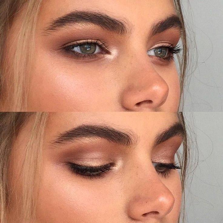 Sommer Make-up natürlich modern aussehen