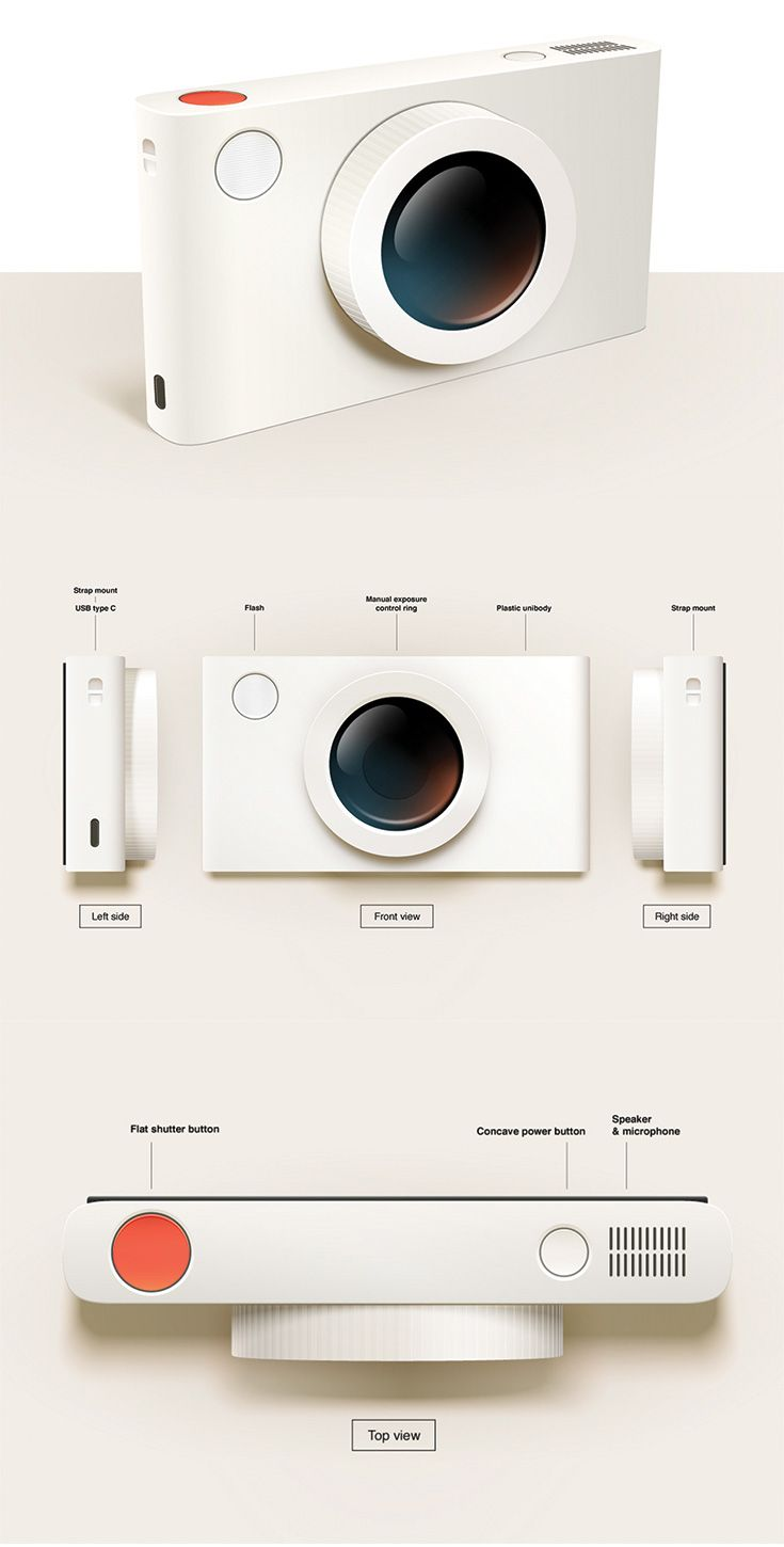 The Less One is a minimalistic camera concept which proves that sometimes less is really more by combining maximum functionality and straightforwasrd aesthetics... READ MORE at yanko design
