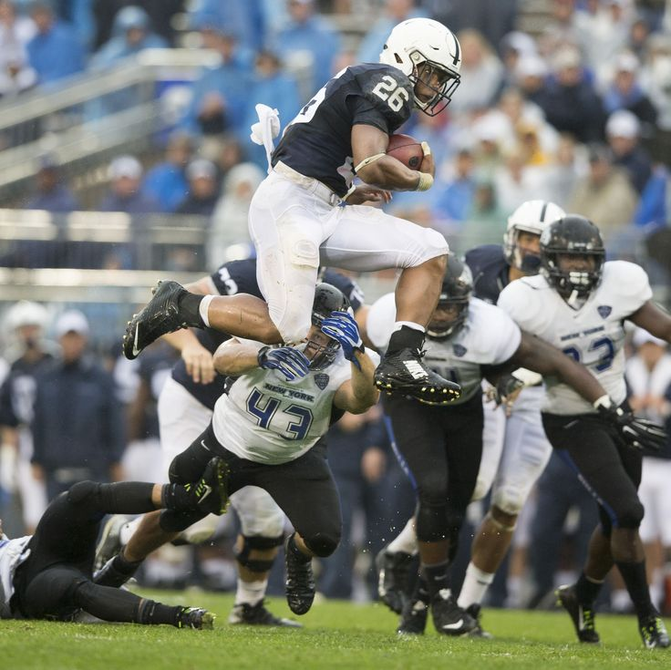 Freshman RB Saquon Barkley gets feet wet at Penn State - Post-Gazette.com - September 17th, 2015