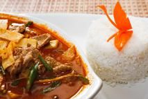 Thai beef red curry - Don Bayley/E+/Getty Images