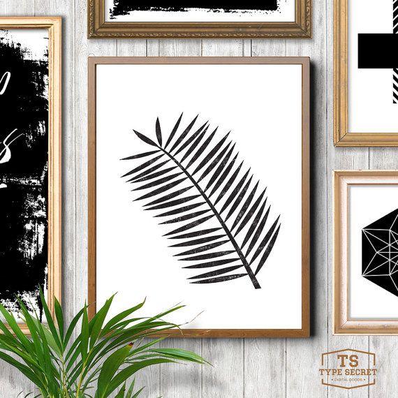 Les 25 meilleures id es concernant art de palmier sur for Feuille de palmier deco