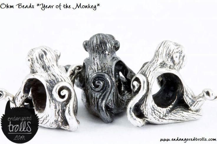 Ohm Beads Year of the Monkey