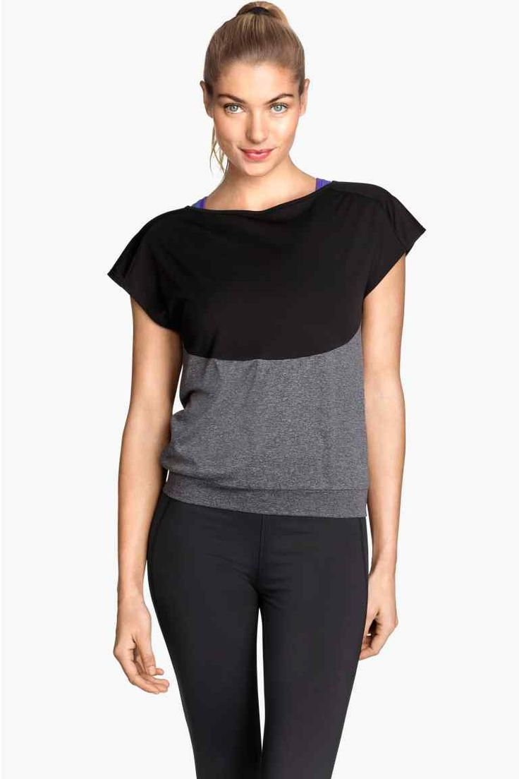 Tričko na jogu | H&M