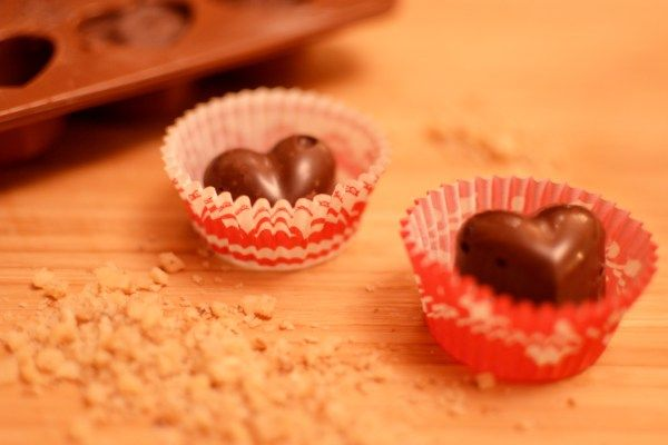 two ingredient chocolate nuts candy recipe