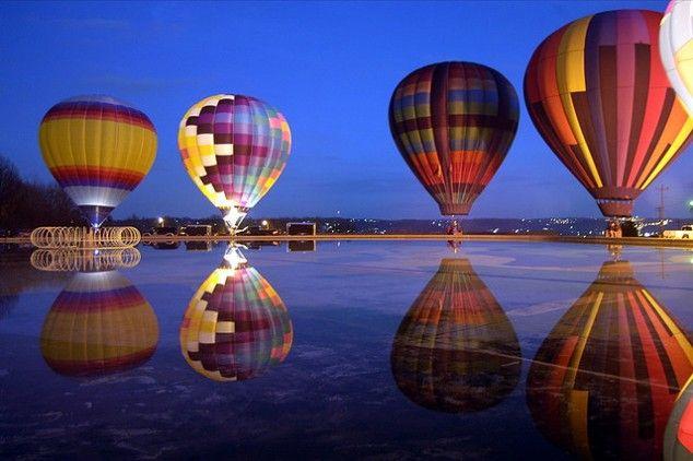 Hot Air BalloonsPhotographers, Airballoon, Air Balloons Riding, Buckets Lists, Photos Gallery, Hotair, Beautiful, Reflections, Hot Air Balloons