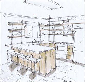 Sketch Up & Marker Render
