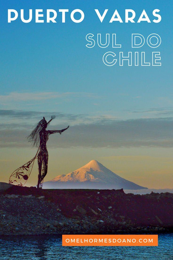 Puerto Varas, no sul do Chile, nos brinda com paisagens belíssimas! O Lago Llanquihue, sempre presente e os vulcões Osorno e Calbuco, fazem com que o visual seja incrível de qualquer ponto da cidade!