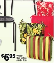 Outdoor Chair Cushion From Dollar General 6 95