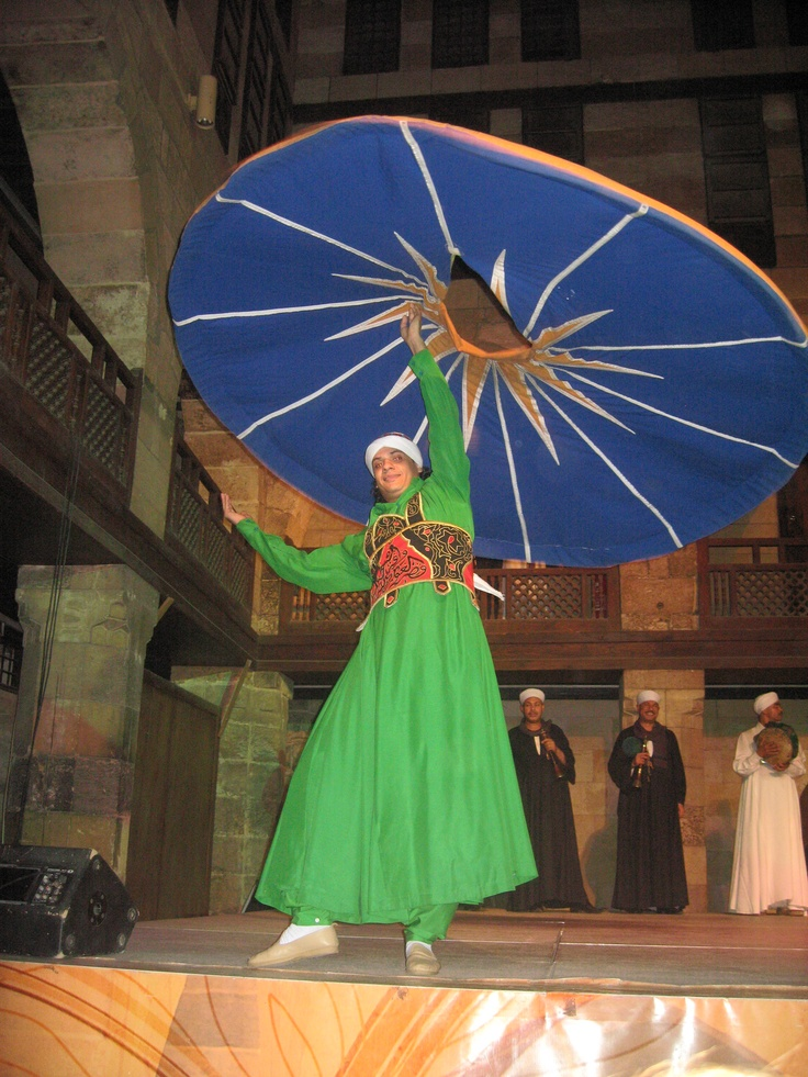 Whirling Dervish - Cairo Egypt