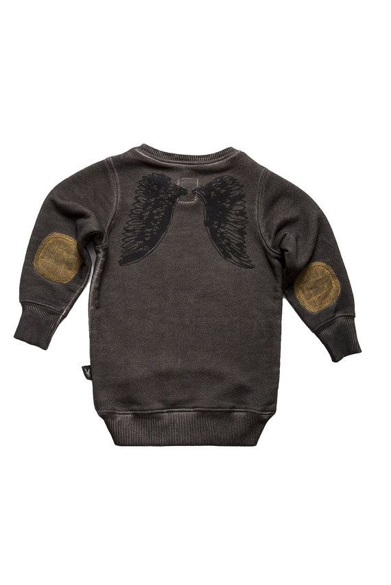 SALE Baby clothes Baby Top Urban Kids Fashion Edgy #cool #baby #top #sweatshirt