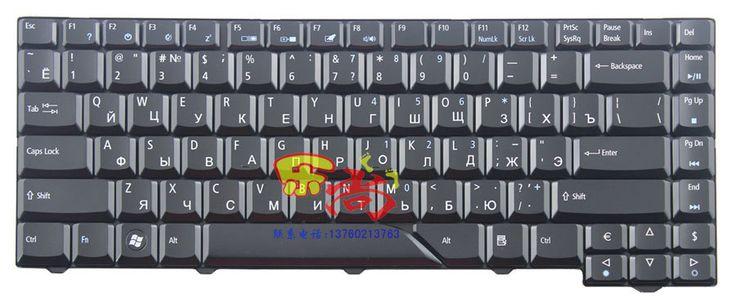 Новая замена для ACER Aspire 5230 5310 5310 г 5315 RU русский клавиатура света черный