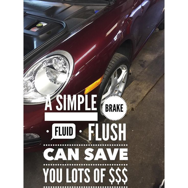 A simple break fluid flush can save you thousands in  repair costs. Brake fluid naturally absorbs moisture and in a car that sits most of the time that moisture can corrode the caliper pistons ABS brake pump and valves or even cause the metal brake lines to rust prematurely.  Call Chris to make appointment 267-279-9477