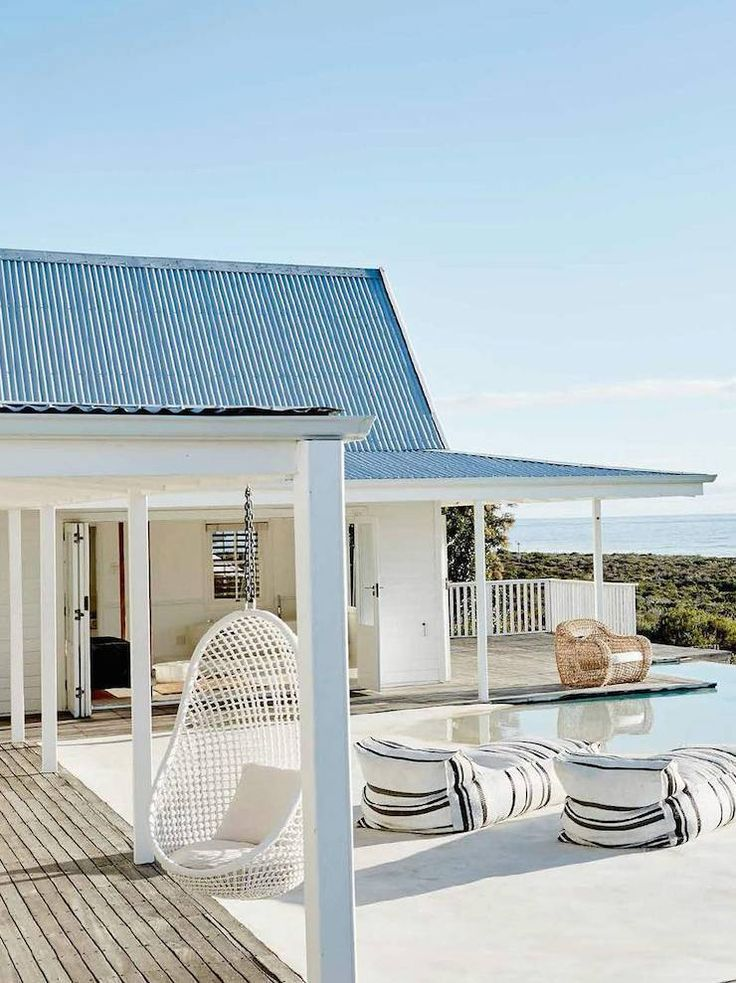 South African Beach House Minimalism   Domino