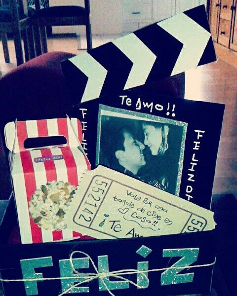 DIY cine en casa Regalo para mi novio   Bricolaje y manualidades  Regal