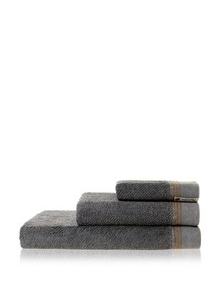 53% OFF Successful Living from Diesel Selvedge Solid Towel Set, Denim Grey