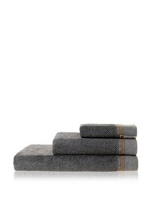 53% OFF Successful Living from Diesel Selvedge Solid Towel Set, Denim Grey