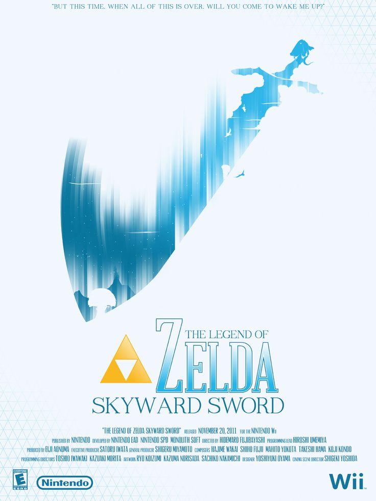 The Legend of Zelda: Skyward Sword   Videogame Posters by Marinko Milosevski