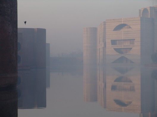 National Assembly Building, Dhaka, Bangladesh by Louis Kahn