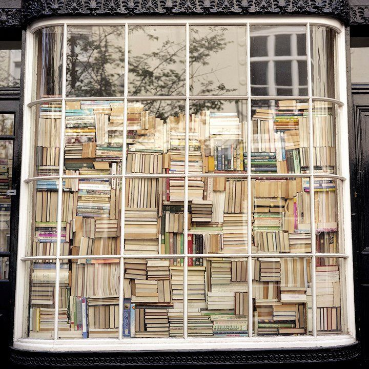 Stacked Books