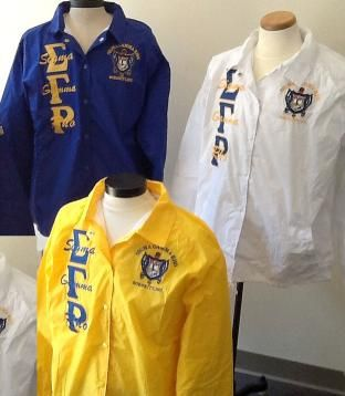 Sigma Gamma Rho Sorority Jackets and Apparel | Page 1 of 1