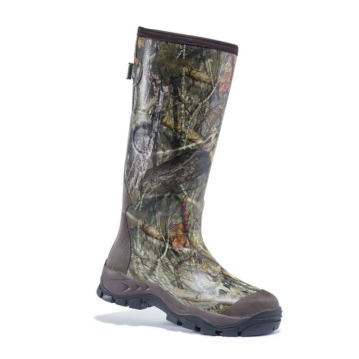 "Warm, waterproof and designed for long treestand sits, soggy hunts and foul conditions, the Browning X-Vantage 17"" Rubber Hunting Boot is a souped-up muck boot"
