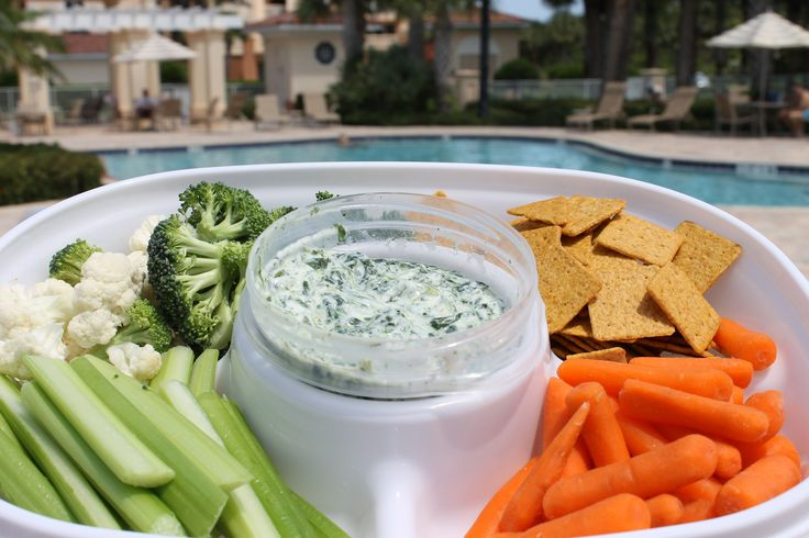 Skinny Spinach Ranch Dip | Recipe | Spinach, Ranch dip and Summer