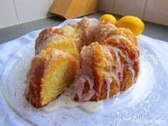 Zachte citroencake met crème fraîche