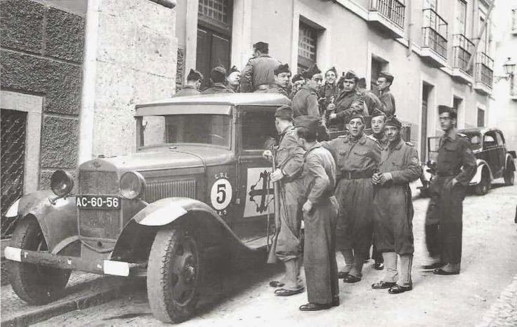 Viriatos Portugueses en la Guerra Civil Española.