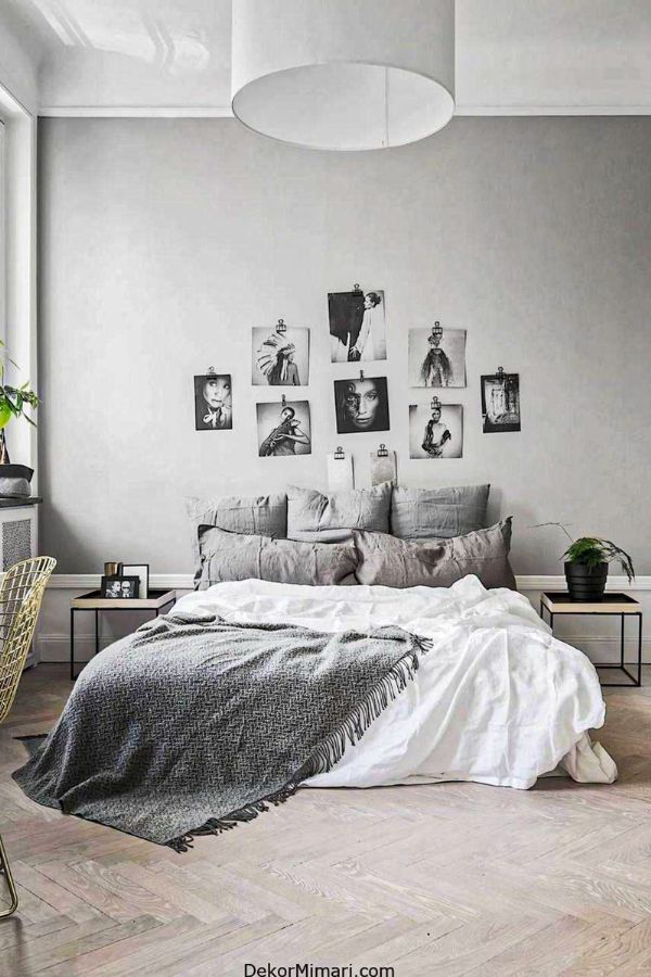 51 New Decor Grey Bedroom Design Ideas For 2020 Page 16 Of 51 Womensays Com Women Blog In 2020 Nordic Bedroom Stylish Living Room Stylish Bedroom