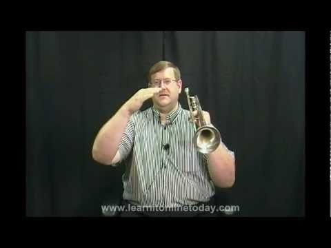 learnitonlinetoday: How to Play Trumpet- Lesson #6 Warm-up and Practice.