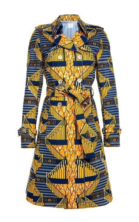 African Print Women Coat