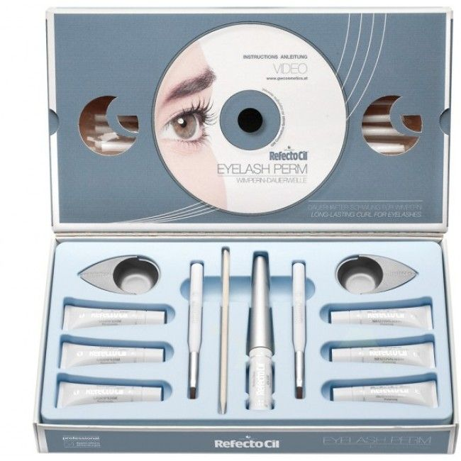 RefectoCil Eyelash perming is safe and easy to learn... Read more: http://www.eyelashwishes.com/eyelash-perm-wholesale