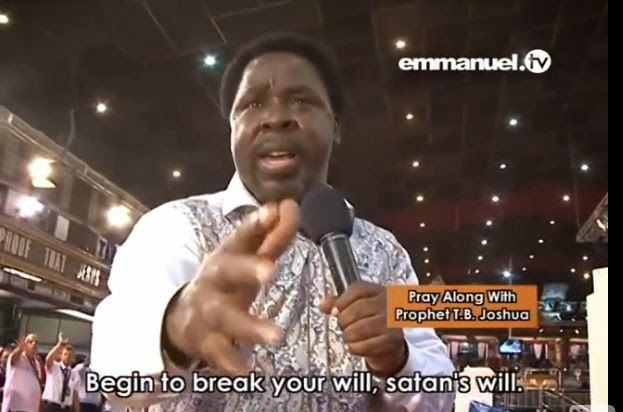 According to a testimony from one of Prophet TB Joshua's church member yesterday on Emmanuel TV, Thaddeus a Nigerian but living in Cameroon used to be gay. But thanks to Prophet TB Joshua, that demon was been chased out of him after an encounter with Prophet TB Joshua's Wise men. Mr Thaddeus, a Nigerian from…