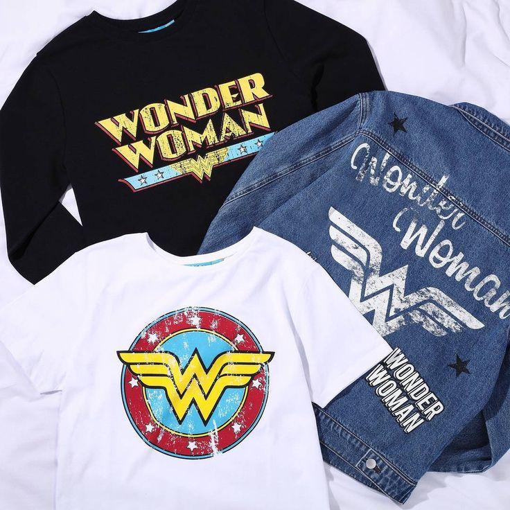 Resultado de imagen de wonder woman t shirt primark