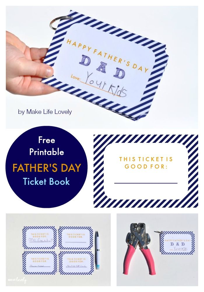 fathers day printable cards to color