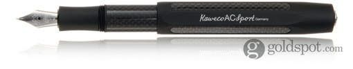 Kaweco AC Sport Carbon Black Broad Point Fountain Pen