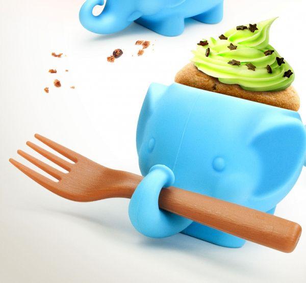 kubeczek do muffinek słoń Hoobbe
